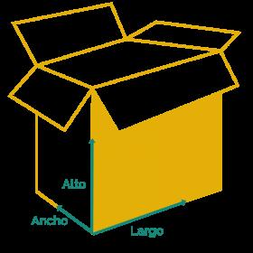 dibujo de caja de cartón