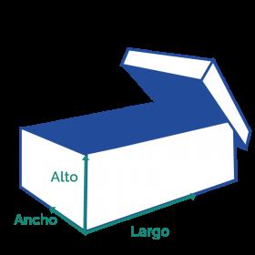 cajas de plástico acanalado