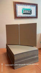 caja de cartón para envío