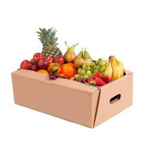 cajas de cartón para transportar fruta