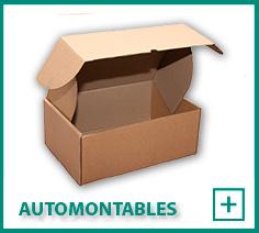 Cajas Cartón automontables